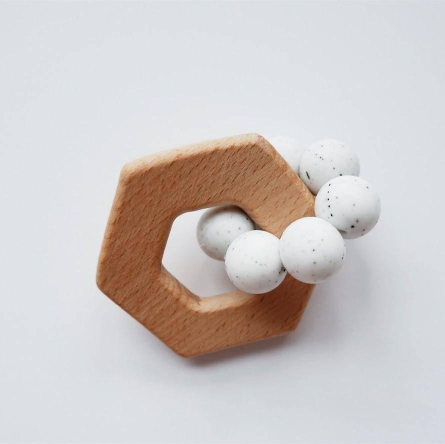 Minika Hexagon Teether - Color Choices