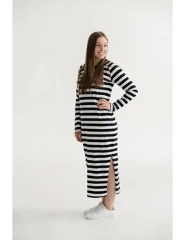 Rose Maternité Juliet Striped Dress