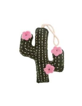 Indaba Felt Cactus Ornament