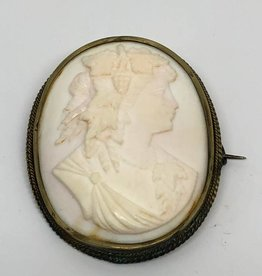 """1850's Cameo """"Wife of Bacchus"""""""