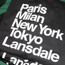 Discover Lansdale 'Favorite Cities' T-Shirt, Black - XL