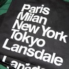 Discover Lansdale 'Favorite Cities' T-Shirt, Black - Large