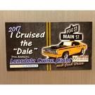 Lansdale Cruise Night Magnet, 2017