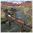 Willow Creek Press 2019 Railroading 18-Month Calendar, ONLY $5.00!!!