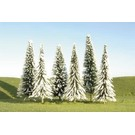 "Bachmann 32153 Pine Trees w/Snow, 3""-4"", 36Pcs."