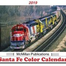 McMillan Publishing 2019 Santa Fe Color Calendar