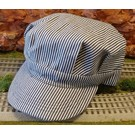 BKP200 Engineer Hat Blue Stripe, Adult