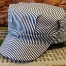 BKP201 Enginee Hat Blue Stripe, Child