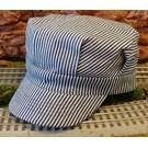 BKP201 Engineer Hat Blue Stripe, Child