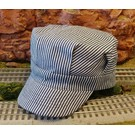 BKP202 Engineer Hat Blue Stripe, Toddler