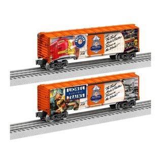 Lionel 1838010 2018 National Lionel Train Day Boxcar