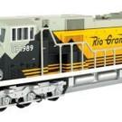 Williams UPHERT-4 Rio Grande SD90 Diesel Locomotive #1989