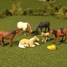 Bachmann 33119 Horses 6Pcs., O Scale