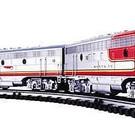 K25305TC Santa Fe F-7 ABA, RailSounds & TMCC