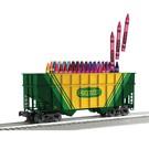 Lionel 3-17703 2-Bay Crayola Hopper Car
