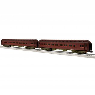 "Lionel 6-85009 Pennsylvania 18"" Heavyweight Coach, 2-Pack (#1524/1526)"