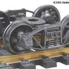 Kadee 501 Arch Bar Trucks, Kadee HO