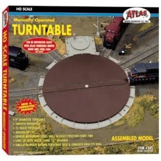 Atlas HO #305 Manually Operated Turntable, Atlas HO