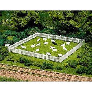 Atlas HO 776 Picket Fence & Gate, HO