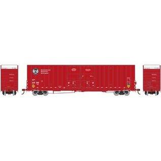 Athearn ATH75083 CP 60' Gunderson Dbl Dr Box Car #218365