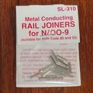 Peco SL-310 Rail Joiners 55/80