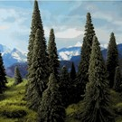 Grand Central Gems 295-T2 Large Pine Trees, 10Pcs.