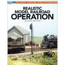Kalmbach Books 12480 Realistic Model RR Operation, 2nd Ed.