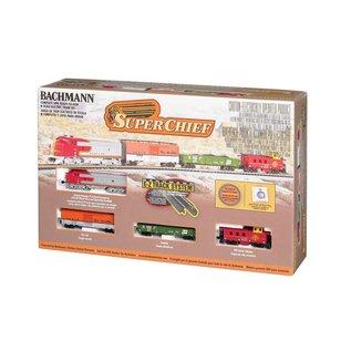 Bachmann 24021 SuperChief Freight Set, N Gauge