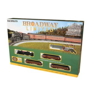 Bachmann 24026 PRR Broadway Limited Pass. Set, N Gauge