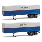 Walthers 949-2426 US Mail 35' Trailer 2-Pk