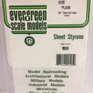 Evergreen 19125 Styrene Sheet - Plain - 12 x 24""