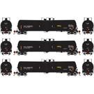 Athearn ATH16520 30k Gallon Ethanol Tank, TILX/Black #1 (3)