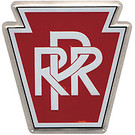 Microscale 10001 Die-Cut Metal Sign, PRR