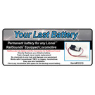 JW&A 10510 - Your Last Battery, Railsounds Lite Batt. Replacement