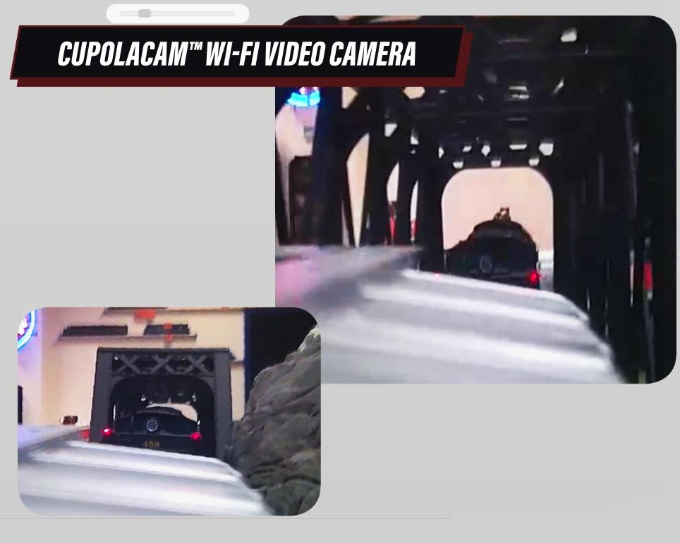 Lionel - 6-85075 Reading Wide Vision Caboose w/Camera (Pre-Order)