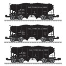 Lionel 6-84153 B&O 1905 2 Bay Hopper (3 Pack)