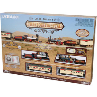 00827 Transcontinental Train Set w/Sound/DCC, HO