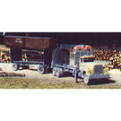Walthers 933-4014 Pulpwood Truck, HO Scale Kit