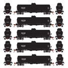 Athearn 1597 Single-Dome GATX Tank Car, 5-Pack