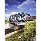 Walthers 933-3012 Double-Track Truss Bridge Kit, HO