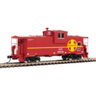 Walthers 8701 Wide Vision Caboose ATSF #999539