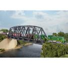 Walthers 933-3870 Single Track Arched Pratt Truss Bridge Kit, N Scale