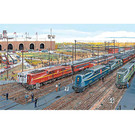 Train Enthusiast Vendors The Pennsy Lineup 1000 Pc Puzzle