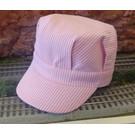 Engineer Hat Pink Stripe, Toddler