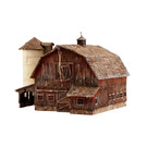 Woodland Scenics PF5190 Rustic Barn, HO Scale Kit