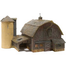 Woodland Scenics BR5038 Rustic Barn, HO Scale