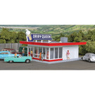 Walthers 933-3484 Vintage Dairy Queen, HO Scale