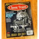 Kalmbach Books Classic Trains Magazine, Fall 2019