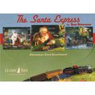 Train Enthusiast Vendors Santa Express Christmas Card Assortment, pkg (10)
