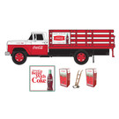 Classic Metal Works 40006 Coca-Cola Stakebed Truck w/Vending Machines
